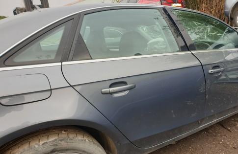 Audi A4 Door B8 drivers rear right grey LXR7 Saloon 2012 2013 2014 2015