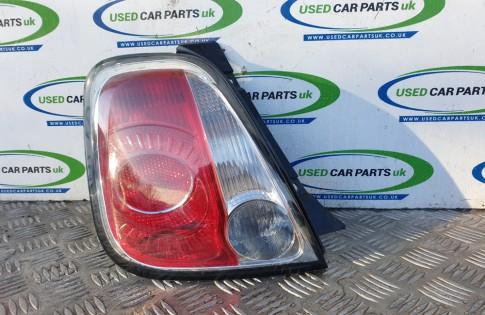 Fiat 500 passengers rear tail brake light 2008-2015 MK1