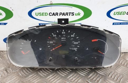 Nissan Micra 2001 1.0 Litre speedometer dash clocks 2481011522