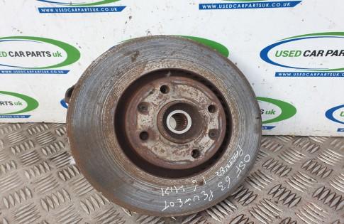 Peugeot Partner Van MK2 wheel hub bearing drivers front ABS 2012-2015