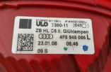 Audi A6 saloon rear tail light brake passengers 4F5945095 2004-2009
