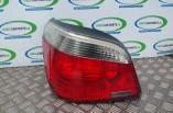 BMW 5 Series E60 rear tail light brake lamp left saloon 2003-2007