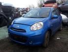 Nissan Micra tailgate B51 blue K13 2010-2013