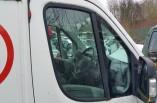 Citroen Relay van door window glass drivers front long wheel base 2006-2014