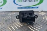 Fiat 500 heater resistor 4 pin 2017