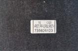 Fiat 500 parcel shelf 735626123