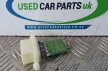 Ford Fiesta MK7 heater resistor card Zetec S 2011