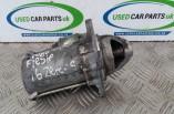 Ford Fiesta Zetec S Starter motor 1.6 petrol MK7