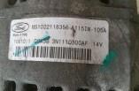 Ford Focus 1.6 alternator MS1022118355 3N1110300AF