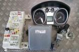 Ford Focus 1.6 ecu lock set ignition barrel key 7M51-12A650-AFD 2009-2011