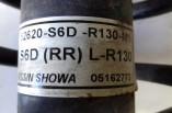 Honda Civic 1.6 petrol rear shocker strut coil spring absorber 2001-2005