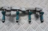 Mazda 2 1.3 petrol fuel injectors and rail 297500-0460 2008-2014
