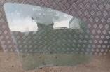 Mitsubishi Colt door window glass drivers front 2004-2008 5 door