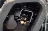 Mitsubishi Colt rear tail light brake lamp passengers rear on body 3 door 2008-2013