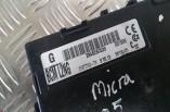 Nissan Micra K12 body control module BCM 284B2BC520 2003-2010