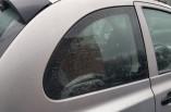 Nissan Micra K12 quarter glass window 3 door drivers rear right