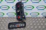 Nissan Micra K12 rear right brake tail light bulb holder