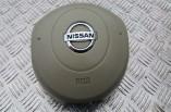 Nissan Micra K12 steering wheel airbag beige 2003-2010