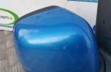 Nissan Micra K13 door wing mirror front right blue B51