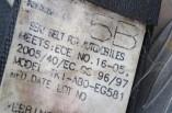 Nissan Micra K13 seat belt rear left TKI-AB0-EG581