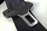 Nissan Pixo passengers rear seat belt black 2009-2013 84980-68K1