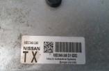 Nissan Qashqai 1 6 Petrol ecu kit lock set MEC940-240
