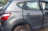 Nissan Qashqai door drivers rear 2010-2014 grey KAD J10