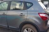 Nissan Qashqai 2010-2014 passengers rear door grey KAD paint code