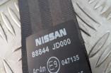Nissan Qashqai seat belt rear left 88844 JD000