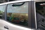 Nissan Terrano II door window glass drivers side rear 2001-2006