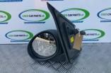 Peugeot 107 door wing mirror passengers black manual 2005-2014