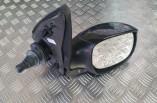 Peugeot 206 manual door wing mirror black drivers front 1998-2009 Zest 2