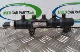 Peugeot 207 1.6 HDI fuel diesel injector rail and fuel pressure sensor
