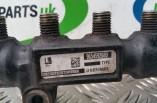 Peugeot 207 1 6 HDI fuel rail 9654592680
