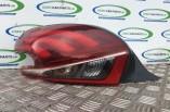 Peugeot 208 Puretech Active passengers rear tail brake light lamp