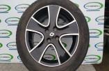 Renault Clio Dynamique MNAV Alloy Wheel black