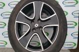 Renault Clio MK4 Dynamique 5 Spoke Alloy wheel black 16 inch