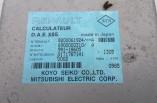 Renault Clio MK2 power steering ECU control module 8200061924 2001-2006