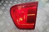 Seat Ibiza rear tail light brake lamp on tailgate boot 1999-2002