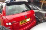 Skoda Fabia VRS tailgate boot lid red LF3K windscreen 2007-2014