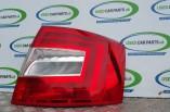 Skoda Octavia Elegance rear tail light drivers MK3 Hatchback