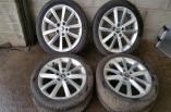 Skoda Octavia MK3 Elegance alloy wheel set 17 inch
