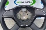 Skoda Octavia MK3 SE 4 spoke steering wheel 2015