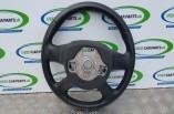 Skoda Octavia MK3 SE steering wheel leather 2015