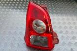 Suzuki Alto SZ rear tail light lamp passengers rear 2013 5 door