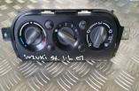 Suzuki SX4 heater control panel switch 2006-2014