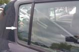 Suzuki Swift quarter window glass drivers rear door 2005-2010