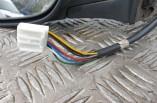 Toyota Avensis 2006-2009 electric power fold door mirror left wiring