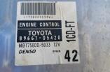 Toyota Avensis D4D engine ECU 89661-05420 1CD-FT 2000 2001 2002 2003