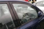 Toyota Avensis Verso door window glass drivers side front 2001-2005